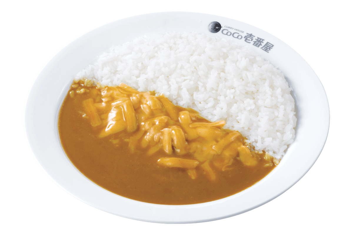Curry House Coco Ichibanya Japanese Style Specialty Shop Mito 322 Cheese Curry701yentax Included
