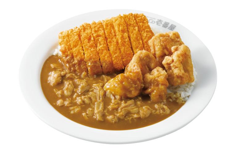 チキン三昧カレー